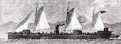 Illustrated London News: gunboat Pioneer
